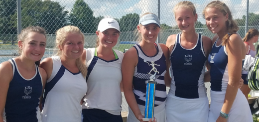 Louisville Doubles Classic 2018 Champions - Louisville Leopards Girls Tennis