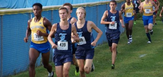 Louisville Leopards Boys Cross Country East Canton Invitational 2018