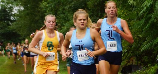 Morgan Cole and Cassidy Kiko Louisville Leopards Cross Country at David Ziesmer Jackson Invitational