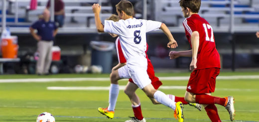 Riley Adams Louisville Leopards Boys Soccer Vs. Salem Quakers 2017