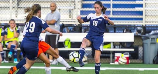 Gabby Smith Louisville Leopards Vs. North Canton Hoover Vikings Girls Soccer 2018