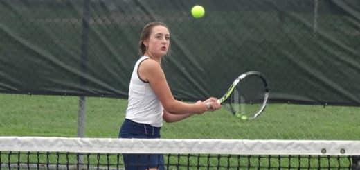 Jade Thomas Louisville Leopards Girls Tennis 2018