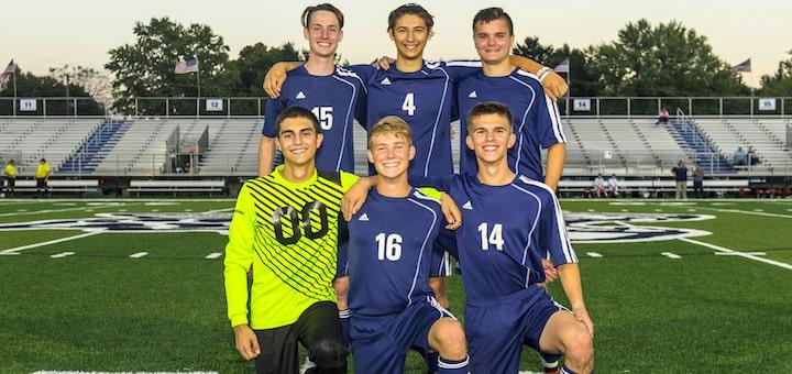 Louisville Leopards Boys Soccer Seniors 2018