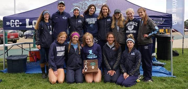 Louisville Leopards Girls Cross Country 2018 District Runner-Up