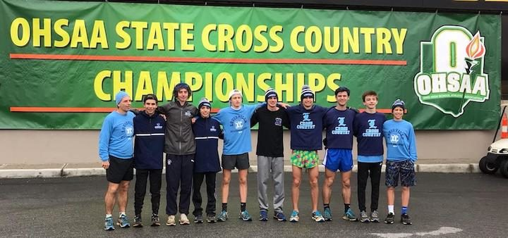 Louisville Leopards Boys Cross Country 2018 at OHSAA State Championship Meet