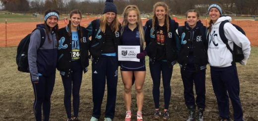 Louisville Leopards Girls Cross Country 2018 at OHSAA State Meet