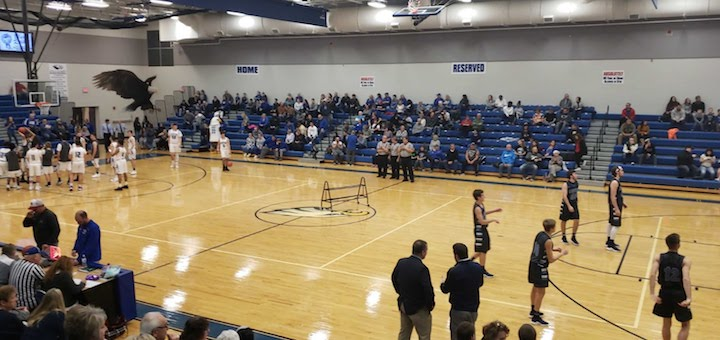 Louisville Leopards at Hubbard Eagles Boys Basketball 2018