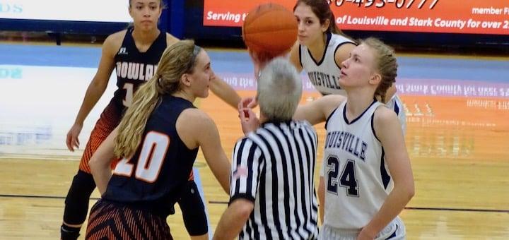 Erin Hahn Louisville Leopards Girls Basketball Vs. Howland Tigers 2017