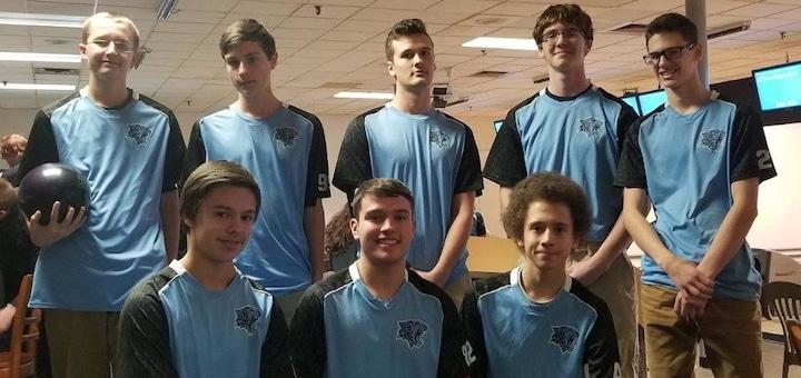 Louisville Leopards Boys Bowling Team 2018 Vs. Massillon Tigers