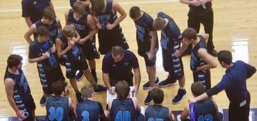 Louisville Leopards Boys Varsity Basketball 2018 at Jackson Polar Bears