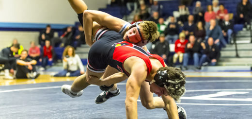 Carter Mickley Louisville Leopards Wrestling Vs. Canfield Cardinals 2019