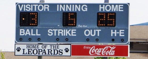 Louisville Lady Leopards Scoreboard