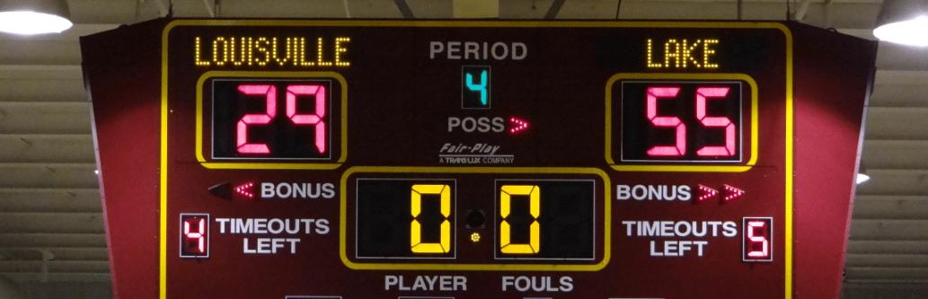 Lake Louisville Girls Basketball Tournament 2012-13