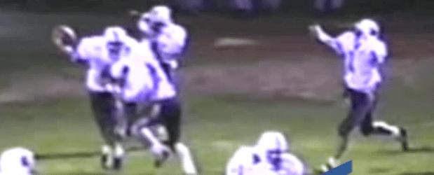 Louisville Vs. Dover Football Highlights 1992 Jason Sivy