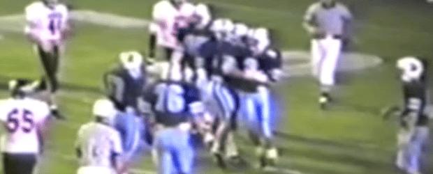Louisville Leopards Vs. Marlington Dukes 1992 Football Highlights Bob Burick