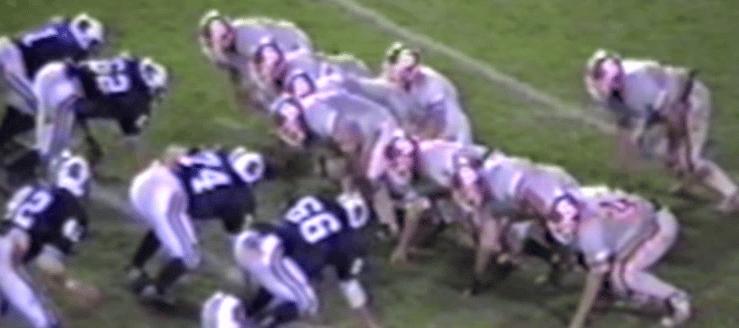 Thornville Sheridan Generals Vs. Louisville Leopards 1999 Football Playoffs