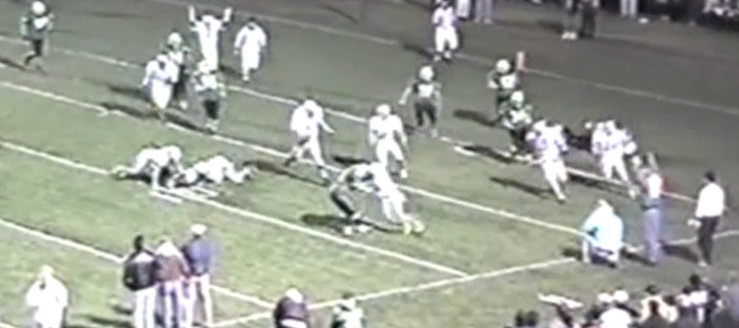 Louisville Leopards Vs. West Branch Warriors 1993 Football Highlights