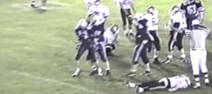 Springfield Spartans at Louisville Leopards 1993 Football Highlights