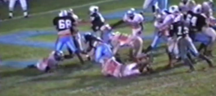 Gary Whaley Louisville Leopards 2002 Vs. Minerva Lions Football