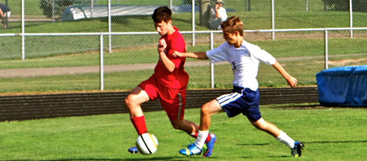 Northwest Indians at Louisville Leopards Boys Soccer Scrimmage