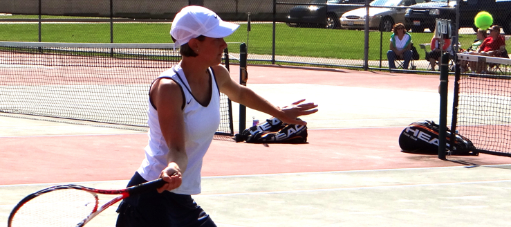 Gretchen Groves Louisville Lady Leopards Tennis