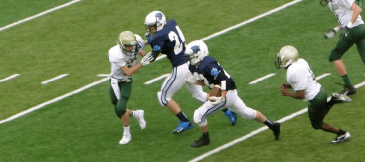 Casey Nau Louisville Leopards Freshman Football