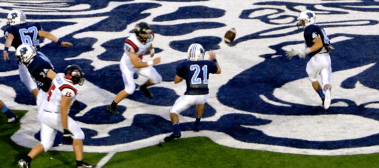 Connor Zwick & Walter Schrock Louisville Leopards Football Vs. Salem Quakers 2013