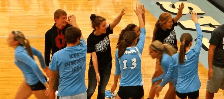 Louisville Lady Leopards Volleyball Fan Tunnel