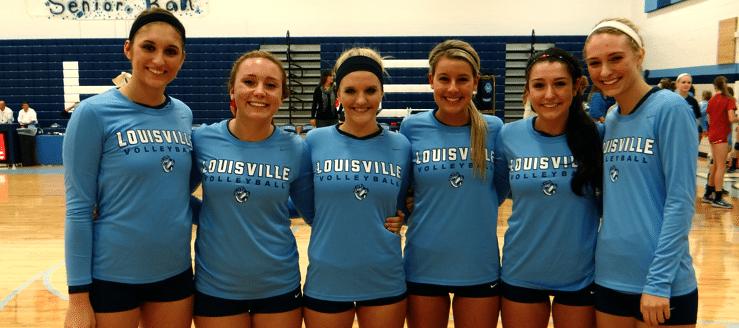 Louisville Lady Leopards Volleyball Seniors 2013