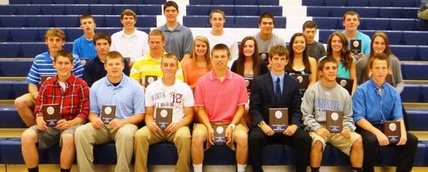 Louisville Leopards 3 Sport Award Winners 2013