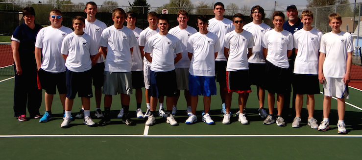 Louisville Leopards Boys Tennis Team 2014 NBC Champions