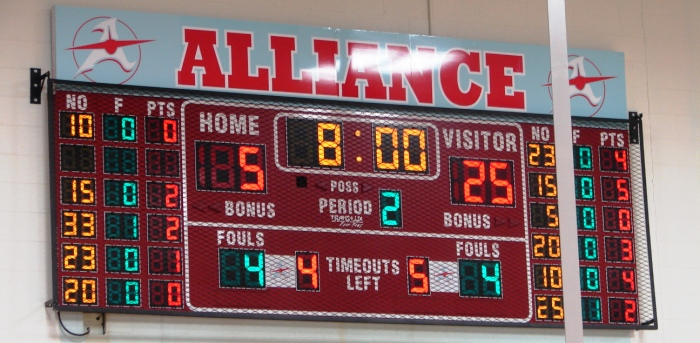 Alliance High School Aviators Scoreboard