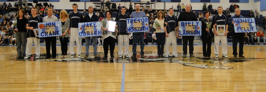 Louisville Leopards Basketball 2012 Senior Night