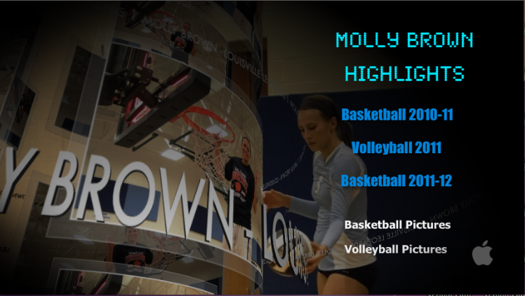 Molly Brown Basketball & Volleyball Highlight DVD
