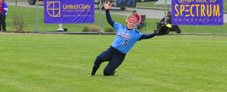 Amy Hoover Catch Louisville Leopards at Jackson Polar Bears Softball