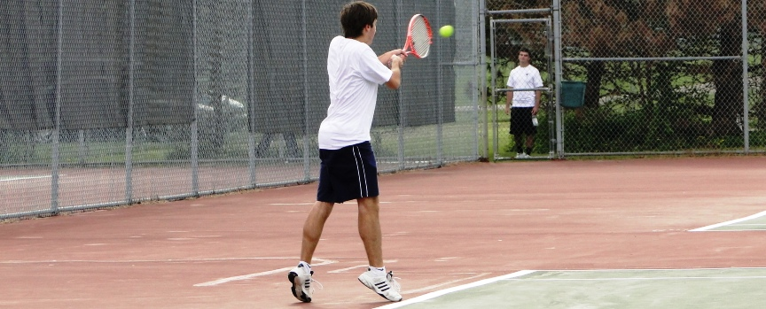 Anthony Hoover Louisville Leopards Tennis