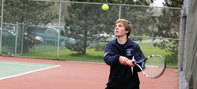 Boys Tennis Louisville Leopards Vs. Marlington Dukes