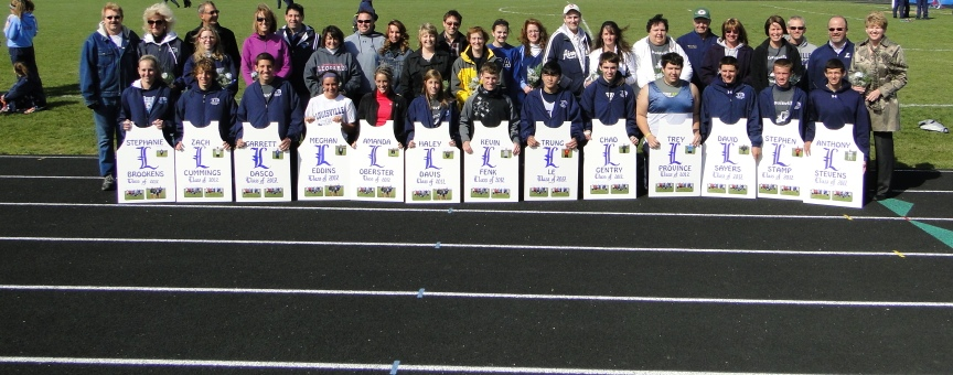 Louisville Leopards Track Seniors 2012