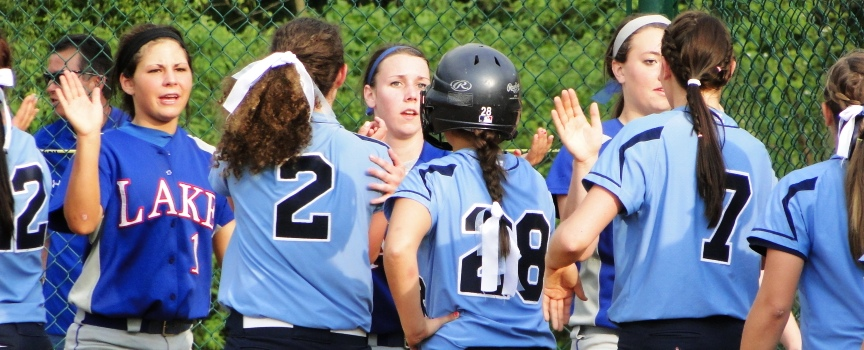 Lake Blue Streaks Louisville Lady Leopards Softball Tournament 2012