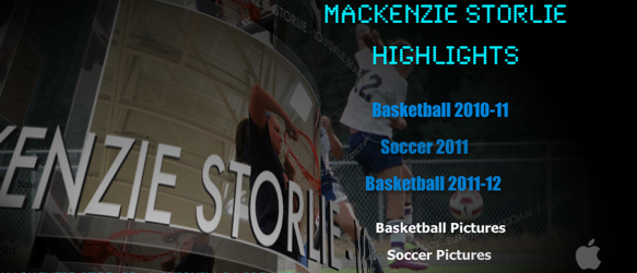 Mackenzie Storlie Highlight Video DVD