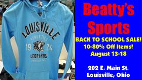Beatty's Sports Back To School Sale