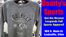 Beatty's Sports Grey Louisville Athletics T-Shirt