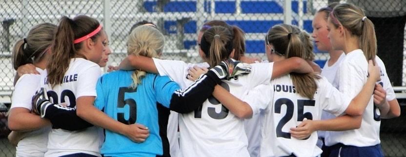 Louisville Lady Leopards Soccer 2012 Vs. Carrollton