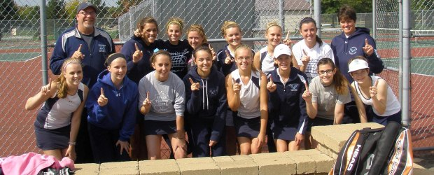 Louisville Lady Leopards Tennis NBC Champions 2012