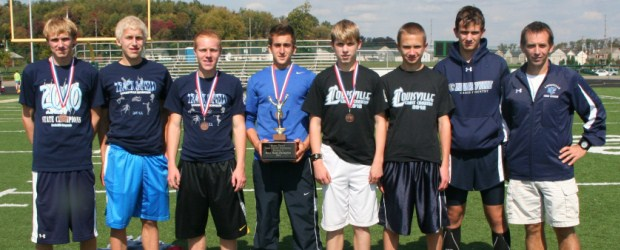 Louisville Leopards Stark County Division I Champions Boys Cross Country