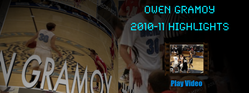 Owen Gramoy 2010-11 Basketball Highlights
