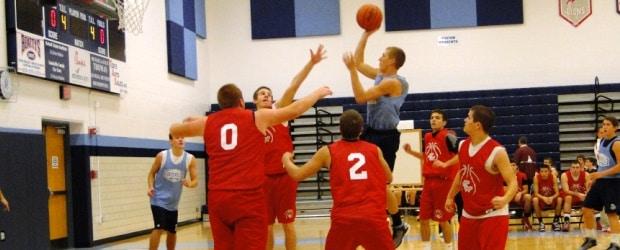 Alex Schooley Louisville Leopards Basketball Scrimmage 2012