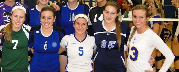 Jordan Monnot - District Volleyball All-Star Game 2012