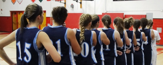 Louisville Lady Leopards Basketball 2012 at Salem