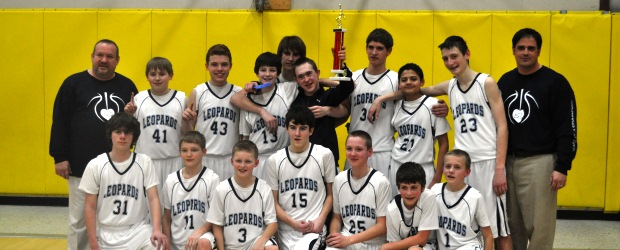 Louisville Leopards 7th Grade Boys Basketball NBC Champions 2013